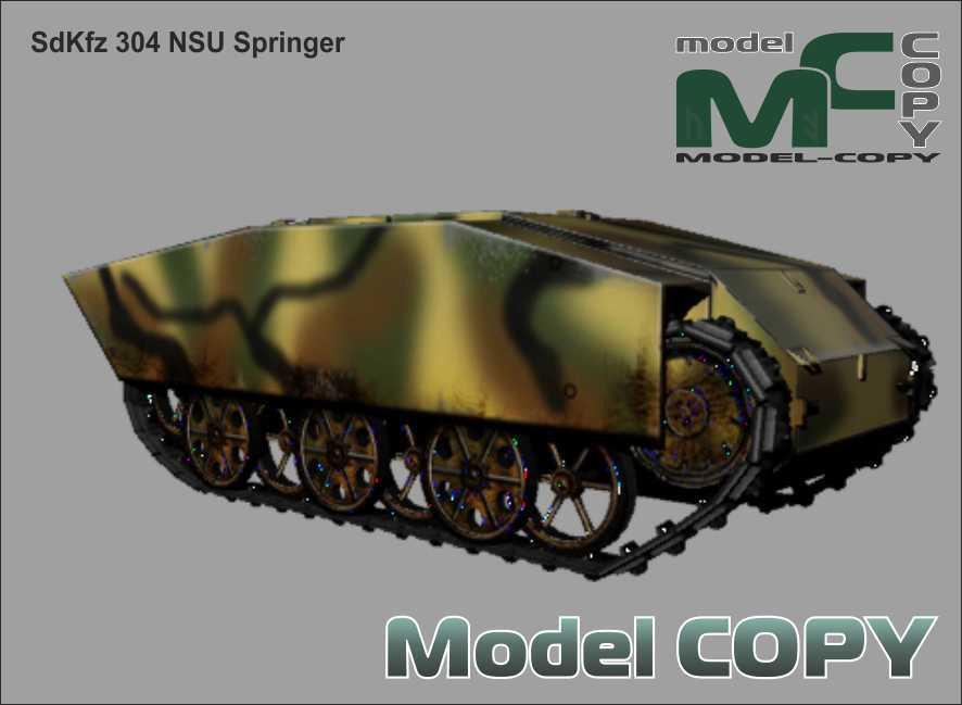 SdKfz 304 NSU Springer - 3Dモデル