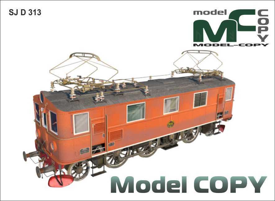 SJ D 313 - 3D Model