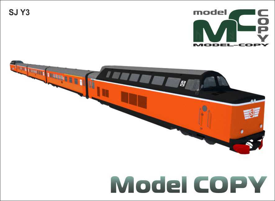 SJ Y3 - 3D Model