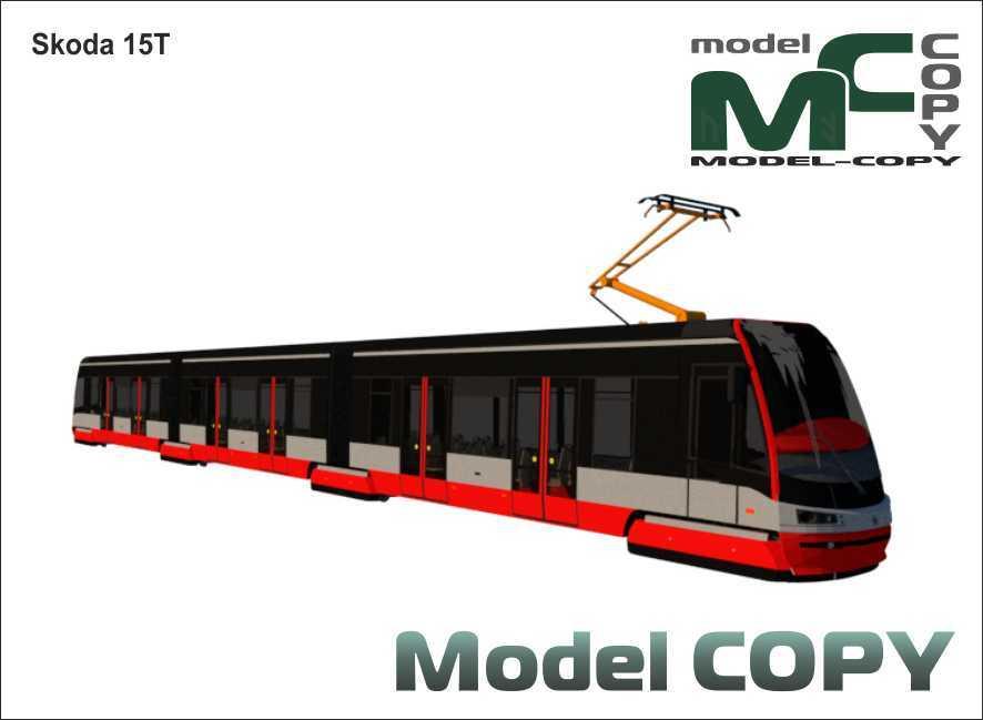 Skoda 15T - 3D Model