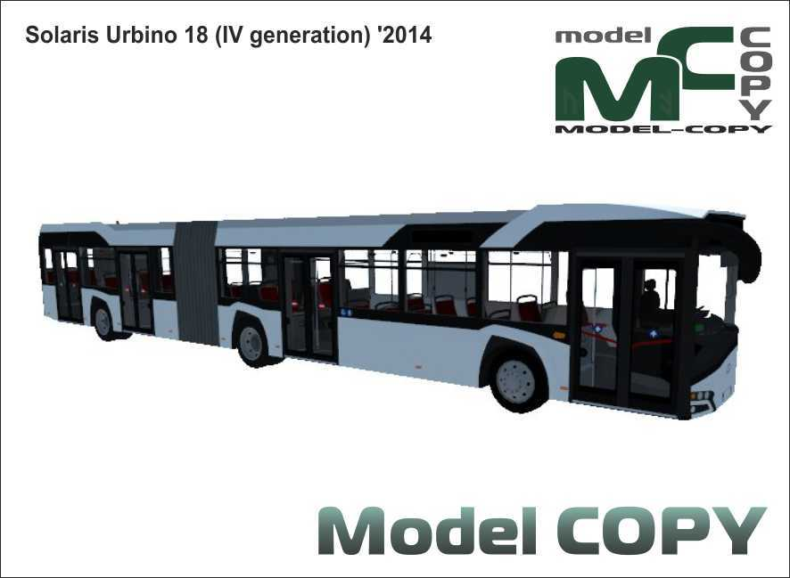 Solaris Urbino 18 (IV generation) '2014 - 3D Model