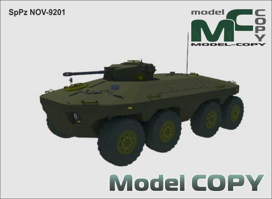 SpPz NOV-9201 - 3D Model