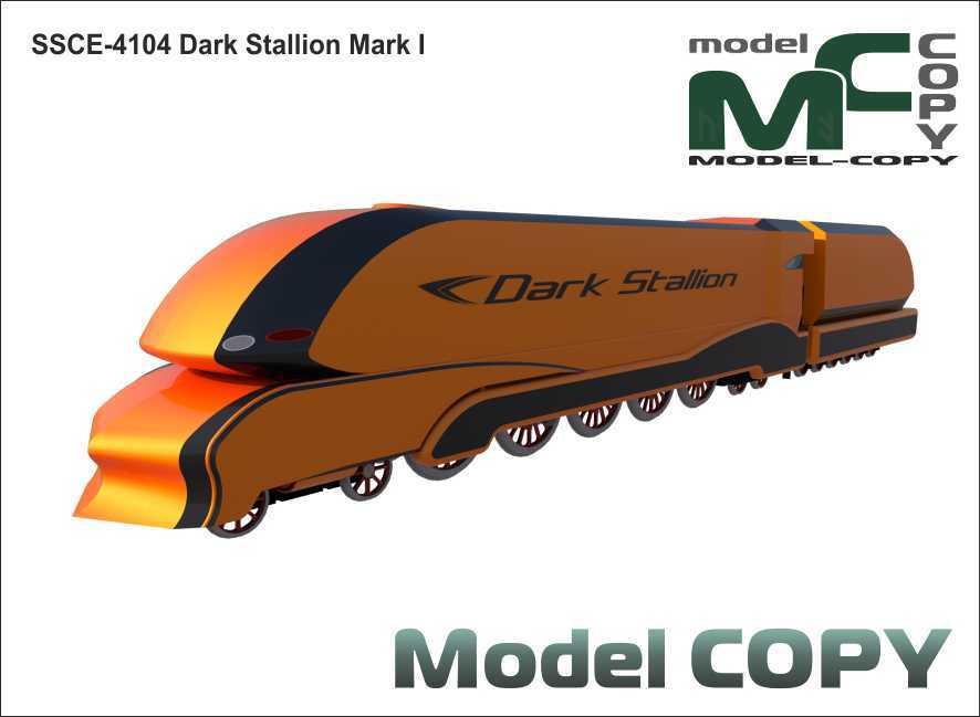 SSCE-4104 Dark Stallion Mark I - 3D Model