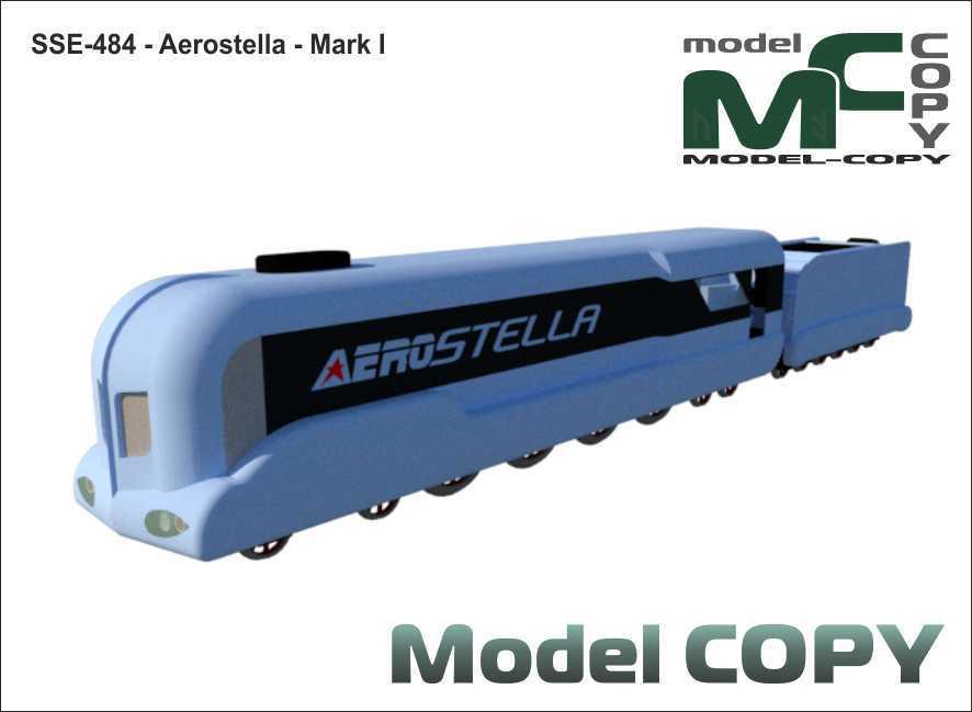 SSE-484 - Aerostella - Mark I - 3D Model