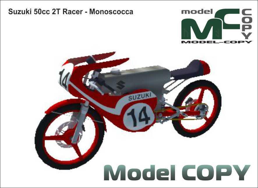Suzuki 50cc 2T Racer-Monoscocca - 3D Model