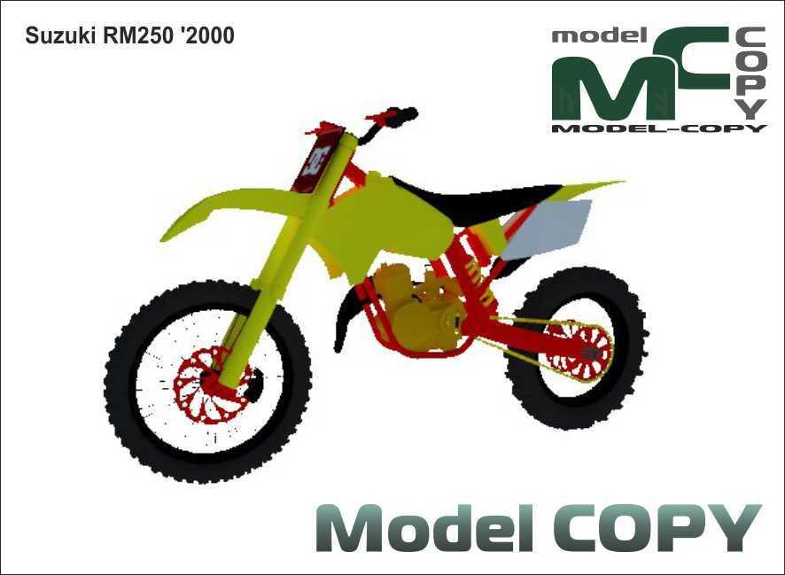 Suzuki RM250 '2000 - 3D Model