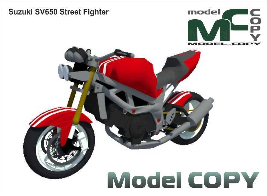 Suzuki SV650 Street Fighter - 3D Model