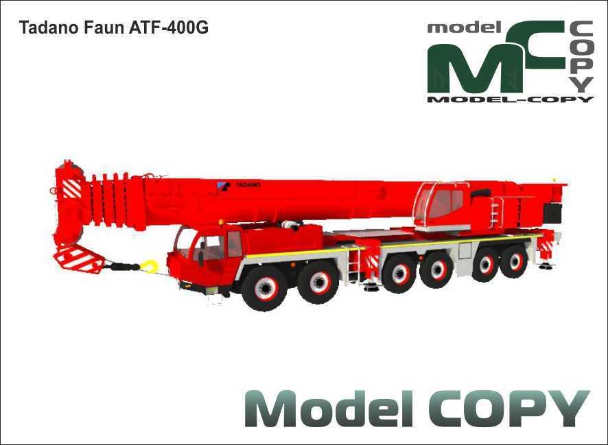 Tadano Faun ATF-400G - 3D Model