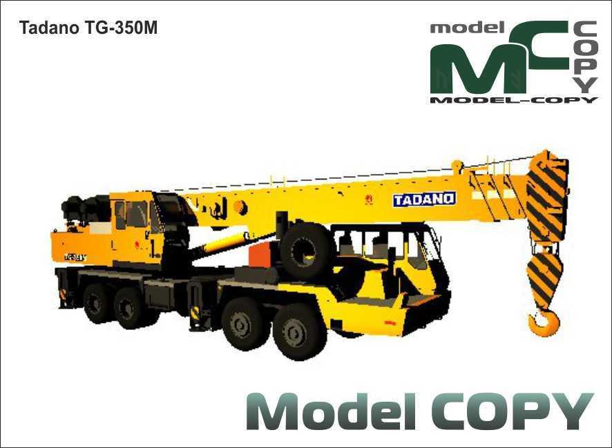 Tadano TG-350M - 3D Model
