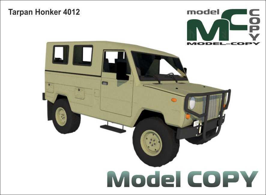 Tarpan Honker 4012 - 3D Model