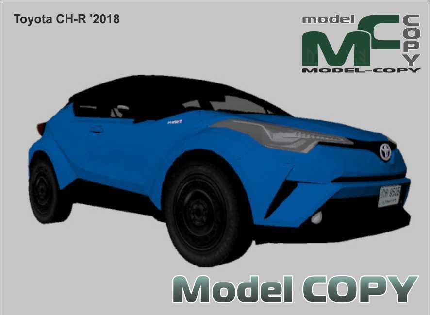 Toyota CH-R '2018 - 3D Model