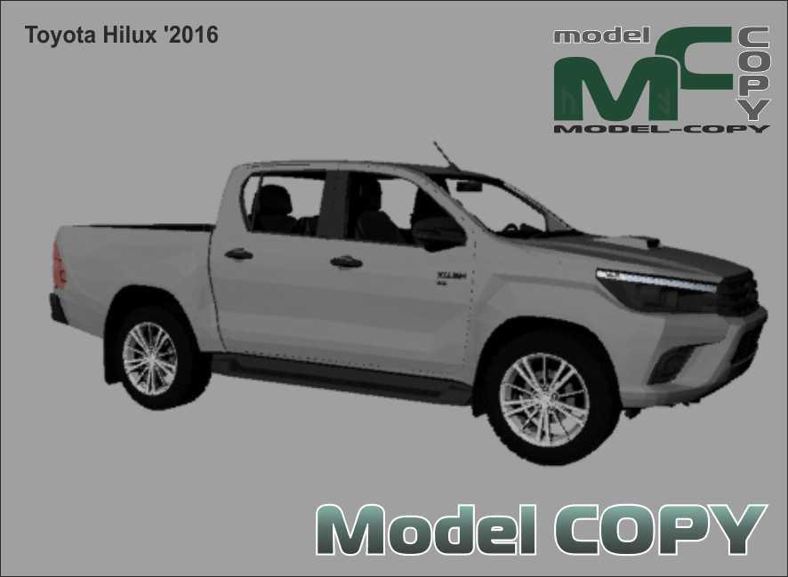 Toyota Hilux '2016 - 3Dモデル