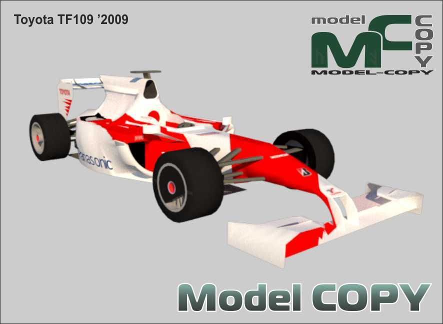 Toyota TF109 '2009 - 3D Model