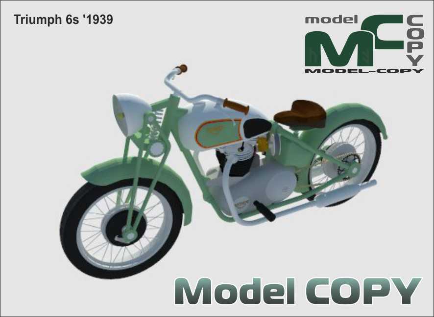 Triumph 6s '1939 - 3D Model
