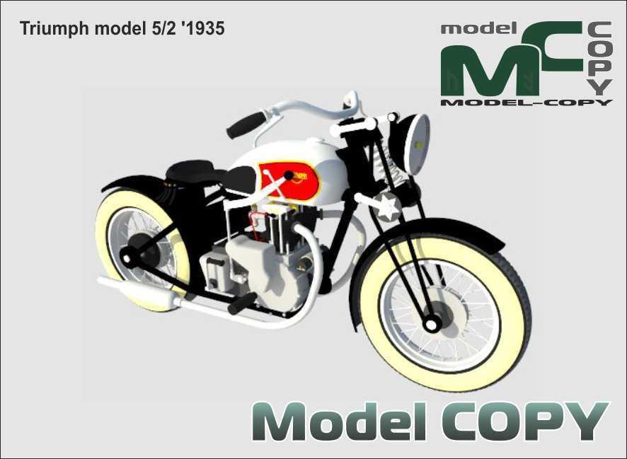 Triumph model 5/2 '1935 - 3D Model