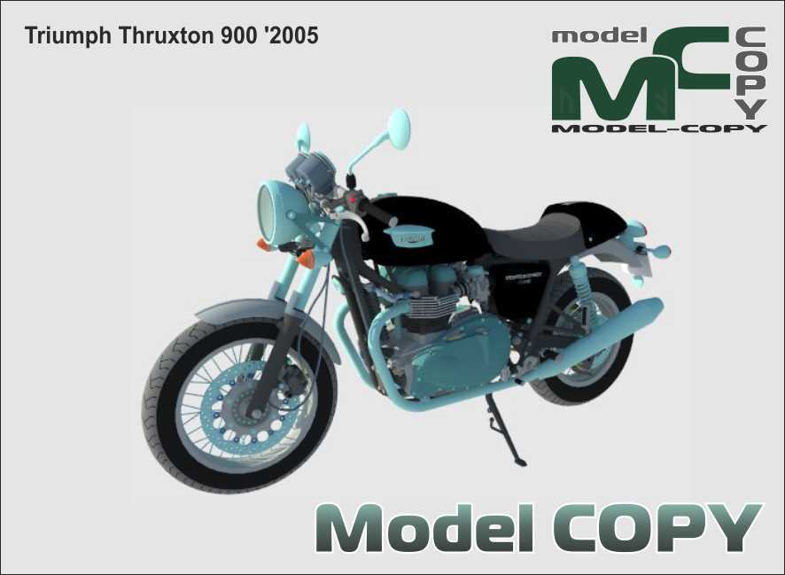 Triumph Thruxton 900 '2005 - 3D Model