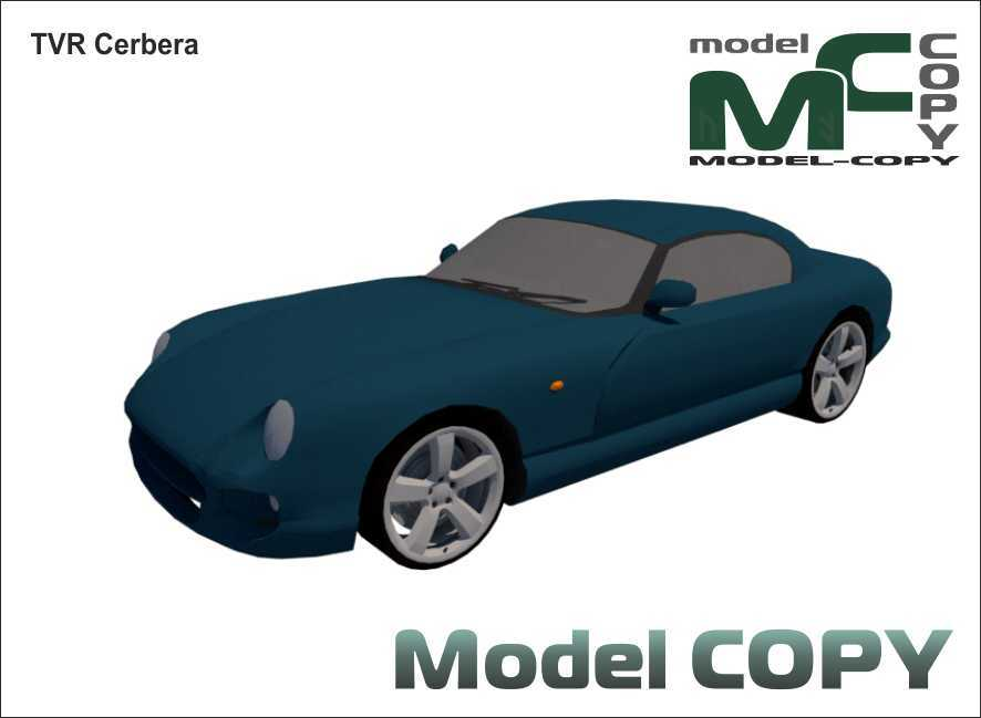TVR Cerbera - 3D Model