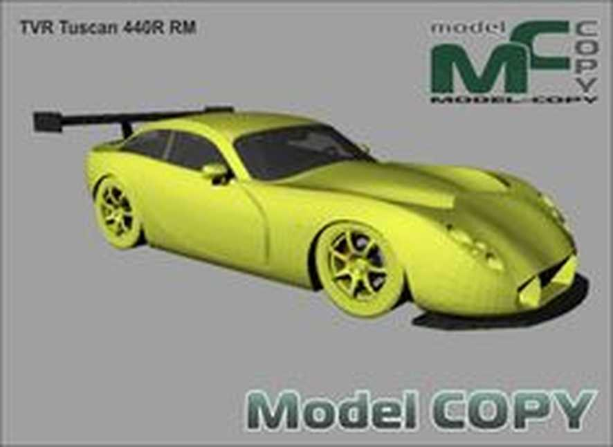 TVR Tuscan 440R RM - 3D Model