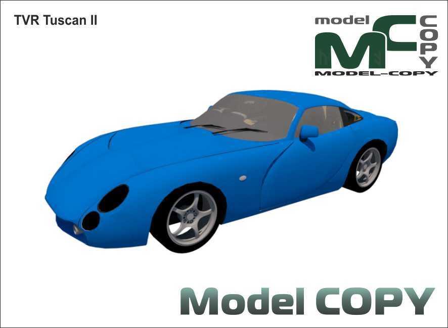 TVR Tuscan II - 3D Model