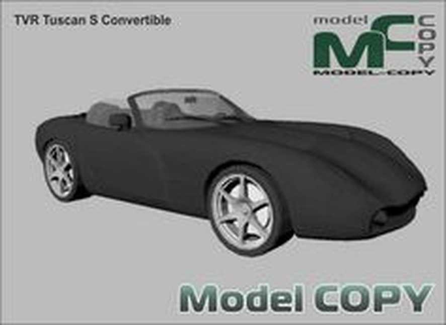 TVR Tuscan S Convertible - 3Dモデル