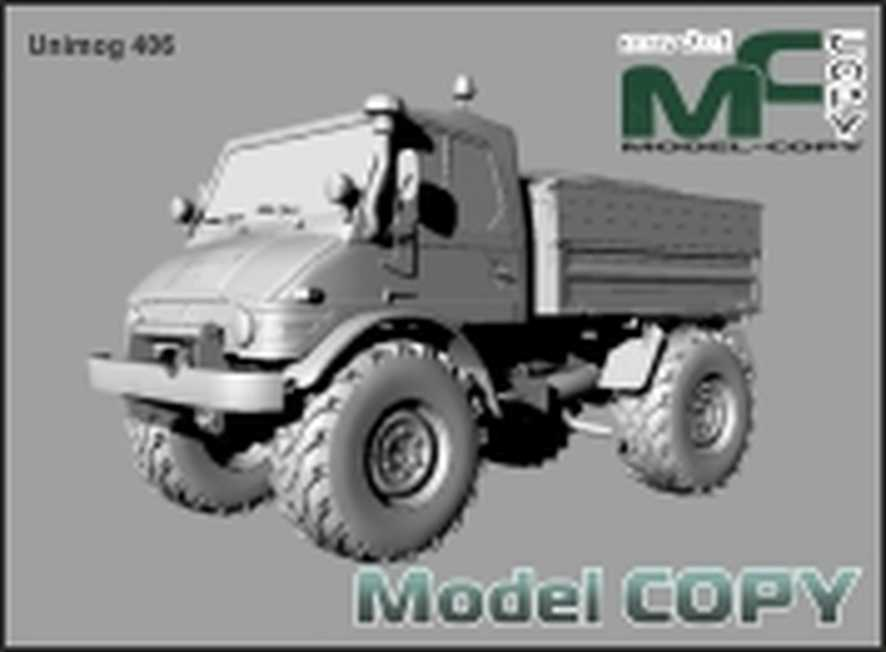 Unimog 406 - 3D Model