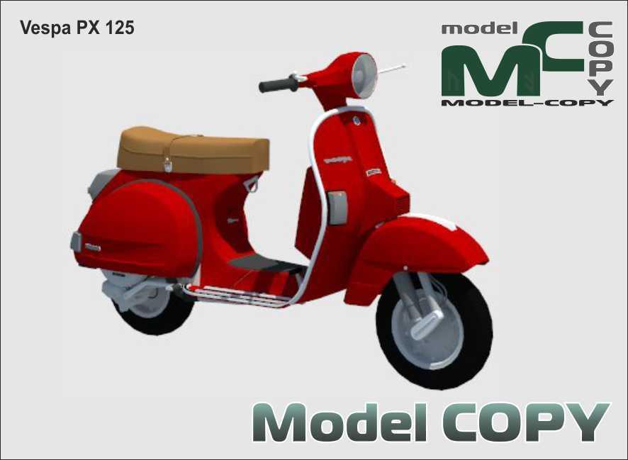 Vespa PX 125 - 3D Model
