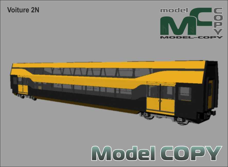 Voiture 2N - 3D Model