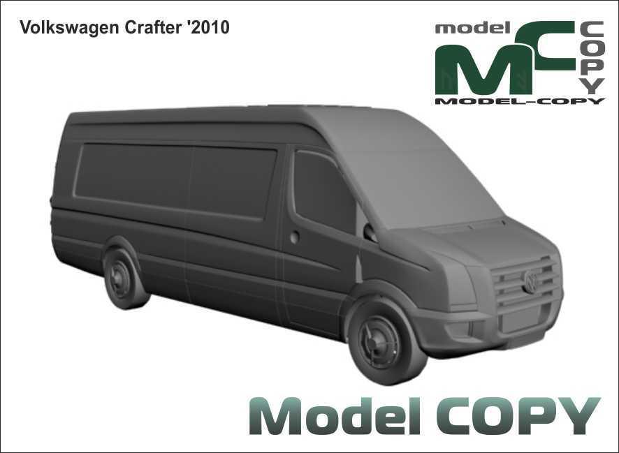 Volkswagen Crafter '2010 - 3D Model