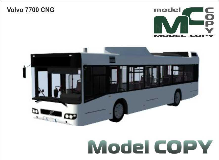 Volvo 7700 CNG - 3D Model