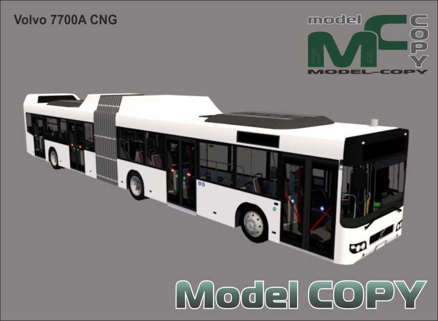 Volvo 7700A CNG - 3D Model