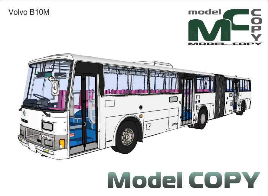 Volvo B10M - Modelo 3D