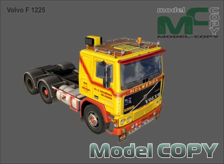 Volvo F 1225 - 3D Model