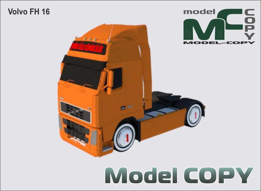 Volvo FH 16 - 3D Model