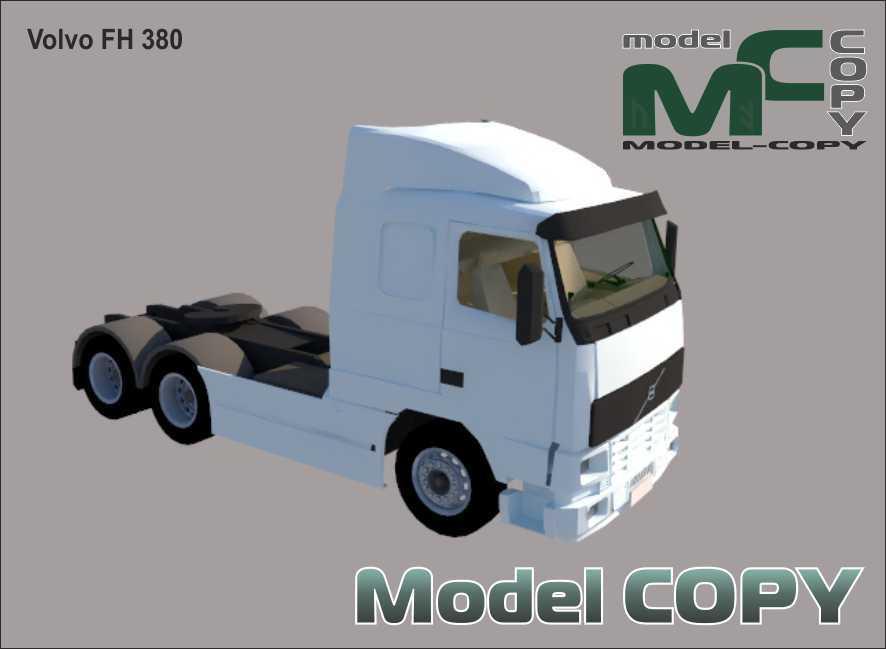 Volvo FH 380 - 3D Model