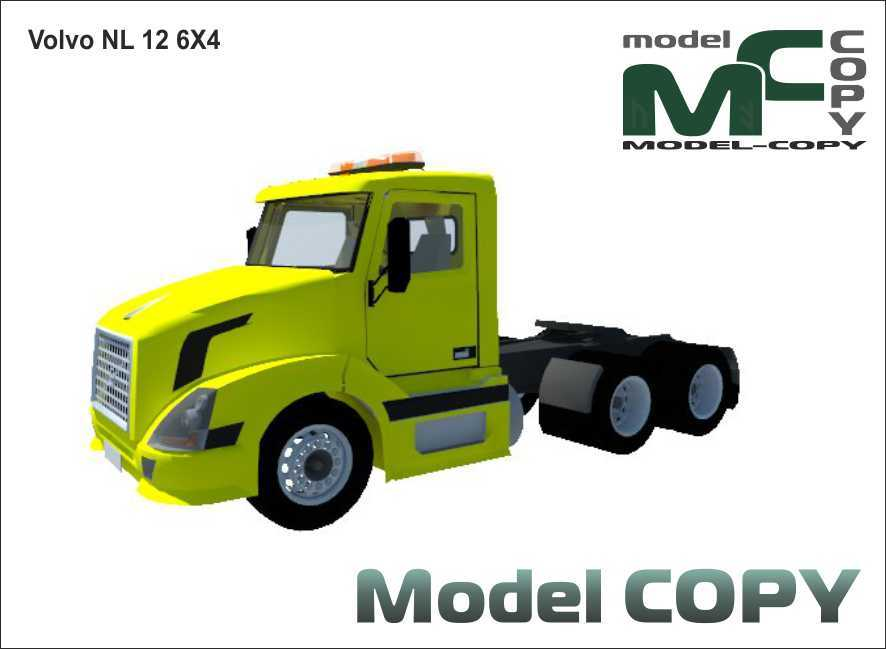 Volvo NL 12 6X4 - 3D Model