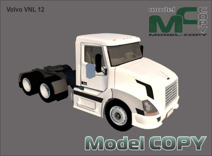 Volvo VNL 12 - 3D Model