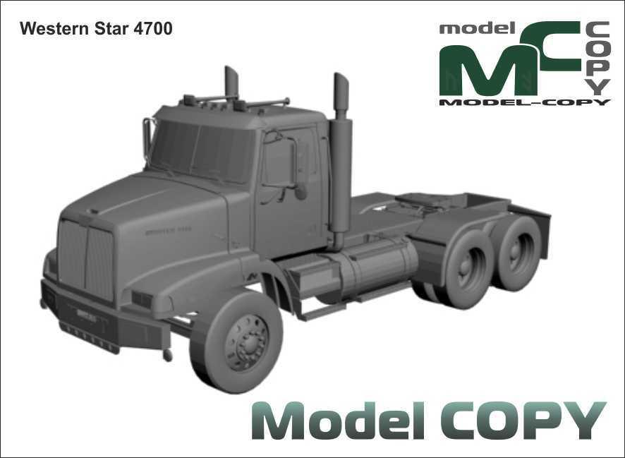 Western Star 4700 - 3D Model