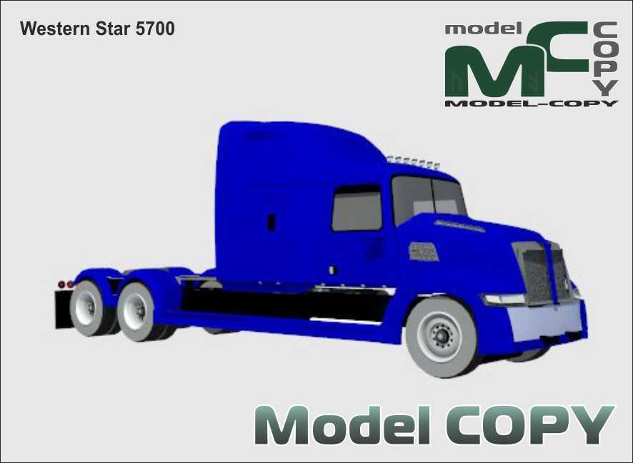 Western Star 5700 - 3D Model