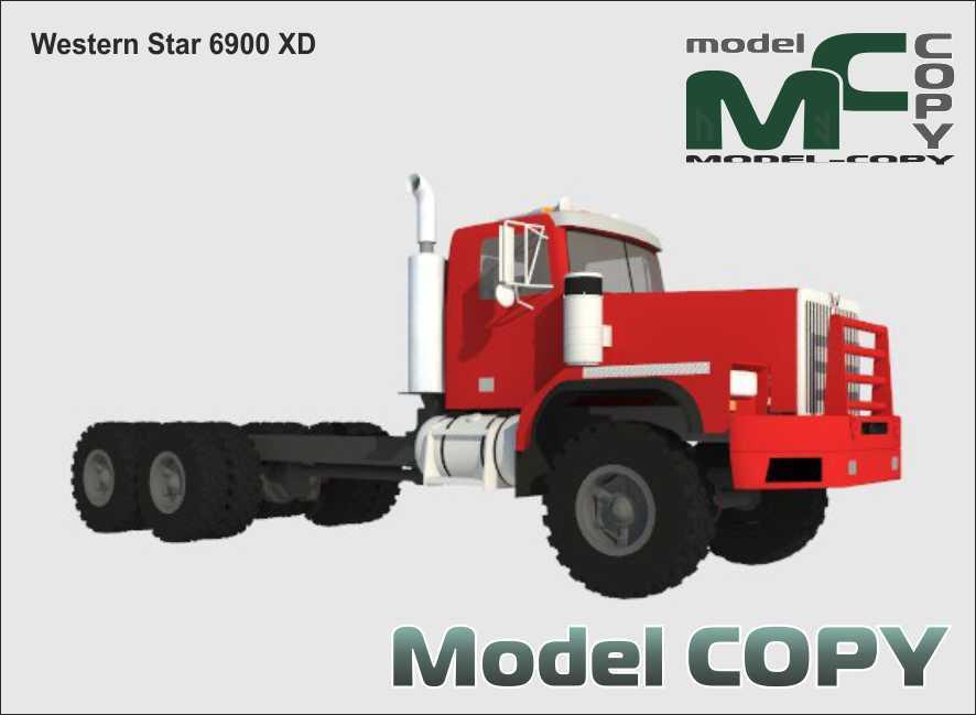 Western Star 6900 XD - 3D Model