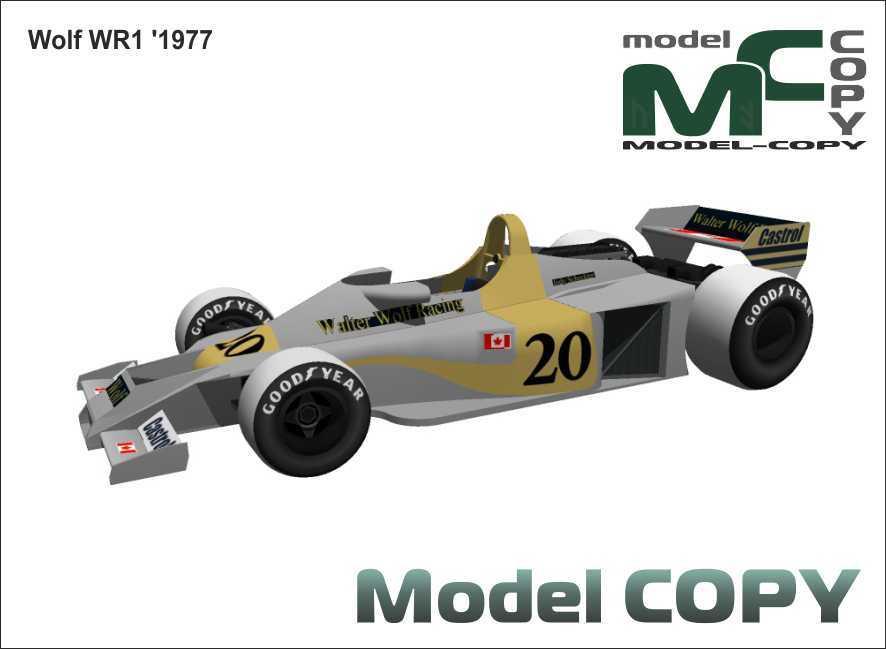 Wolf WR1 '1977 - 3D Model