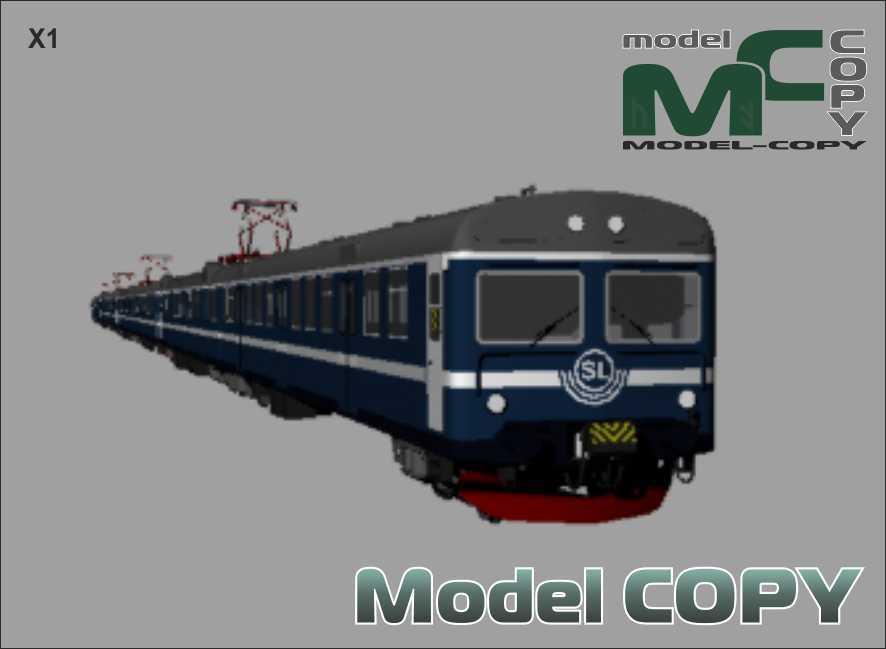X1 - 3D Model