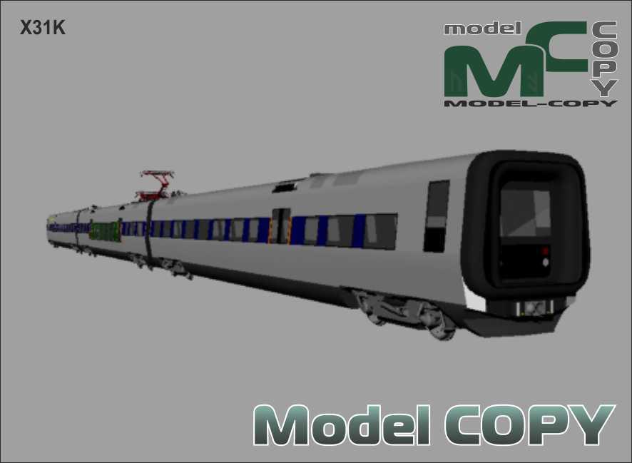 X31K - 3D-модель