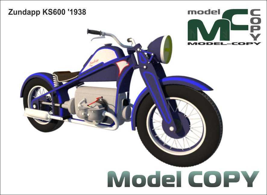 Zundapp KS600 '1938 - 3D Model