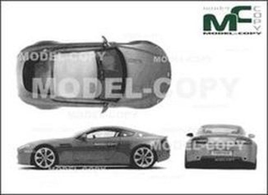 Aston Martin DB Drawing Model COPY - Aston martin db8