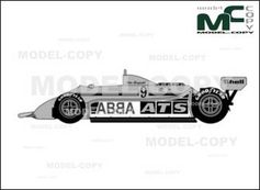 ATS HGS1 Ford Cosworth F1 Ow19...
