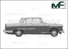 Austin A99 Westminster Sedan '1959 - 2D drawing (blueprints)