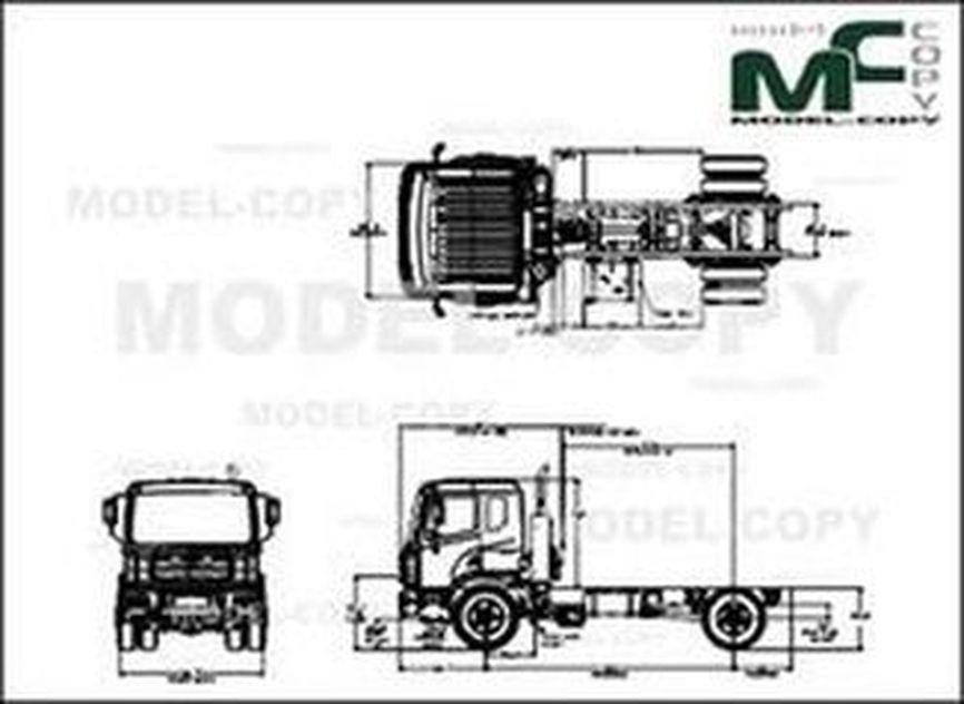 Autocar ACMD - XPERT CLASS 7 - drawing