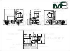 Autocar ACTT - XSPOTTER 4x2 OFF ROAD - drawing
