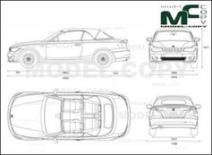 BMW 1-Series Convertible F20 '2012 - drawing