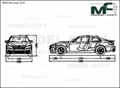 Bmw M4 Coupe 2016 Drawing